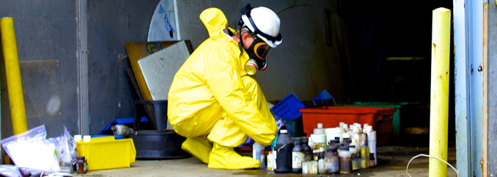 Sampling of hazardous waste